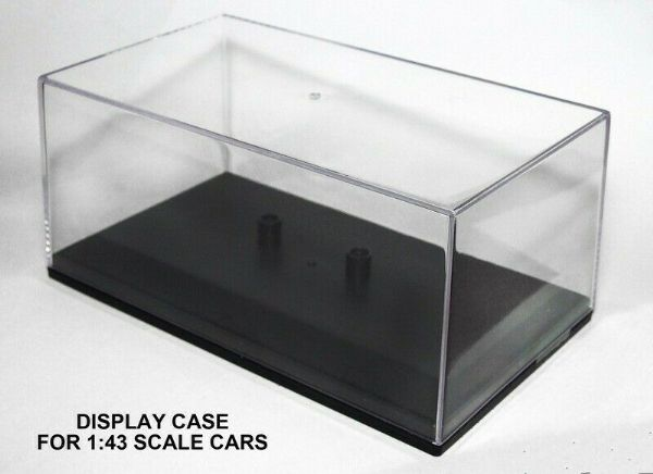 Cararama 1/43 Scale Empty Display Case for 1/43 Car or 1/76 Bus or Truck Holes